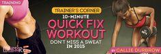 10-Minute Quick Fix Workout