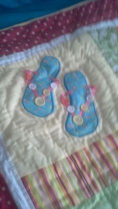 Flip flops/quilt
