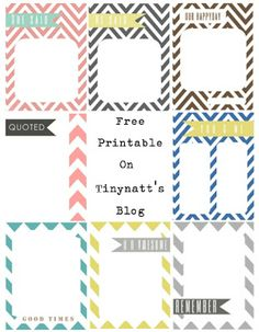 Freebie Journaling Cards from Natt Smith