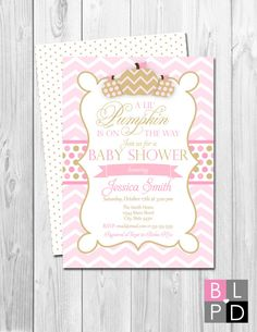 Hey, I found this really awesome Etsy listing at https://www.etsy.com/listing/240527656/lil-pumpkin-baby-shower-invitation