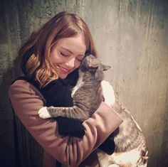 almost famous cats : Emma Stone.