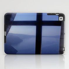 Santorini outlook iPad Case by alkinoos