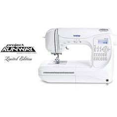 One of these days.  Brother Computerized 294-stitch Project Runway Sewing Machine PC-420PRW