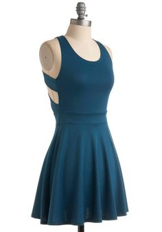 I love this dress from Modcloth! If I didn't already have three thousand blue outfits I would buy it... what can i say? i like blue!