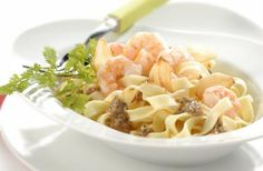Receita de Salada de Massa com Camarão e Pesto