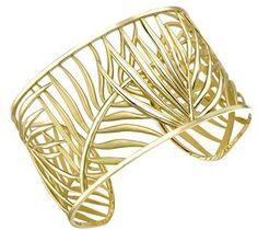 Theo Fennell Palm Diamond Cuff
