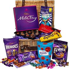 Cadbury Chocolate Basket