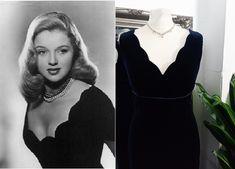 Old Hollywood Dress, Hollywood Glamour, Prom Dresses Blue, Ball Dresses, Grace Kelly Dresses, Vintage Ball Gowns, 1950s Fashion Dresses, Blue Velvet Dress, Vintage Velvet