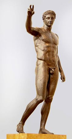 Paris or Perseus. Bronze c. 340-330 BC, National Archaeological Museum, Athens. Attributed to Euphranor, Atikythera shipwreck.