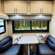 Get closer to nature with our luxury fifth wheels Fifth Wheel Living, Luxury Fifth Wheel, Closer To Nature, Windows, Curtains, Building, Wheels, Design, Home Decor