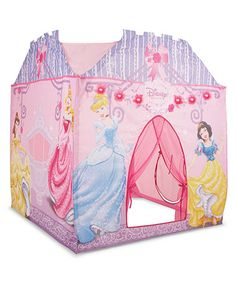 Princess Super Play Tent  sc 1 st  Pinterest : disney princess mega castle playhut tent - memphite.com