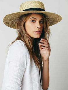 567f193c9f0c9 This is a packable floppy hat with a knotted leather trim. It s handwoven  from naturally structured paper straw.