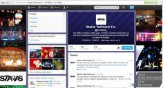 Şubat 2013 - Nisan 2013 arasında çalıştığım Staras'da sosyal medya hesaplarına destek verdim.