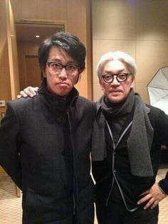 Ryuichi Sakamoto & Yasuyuki Okamura