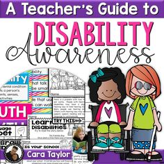 This resource, A Teacher's Guide to Disability Awareness, is aimed at the First through Third Grade student and can also be used for professional staff development for others at your school.  This unit is divided into five sections; each has a picture book with response sheets as a way to begin exploring the objective.  There are lesson plans for each section to guide you through the variety of activities that will create a more accepting environment in your classroom.