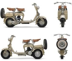 Lambretta - Lambretta was a line of motor scooters originally manufactured in Milan, Italy by Innocenti. In the Indian government bought the Milanese factory and the rights to the Lambretta name, creating Scooters India Limited (SIL). Scooters Vespa, Lambretta Scooter, Scooter Motorcycle, Motor Scooters, Vintage Bikes, Vintage Motorcycles, Side Car, Italian Scooter, Classic Bikes