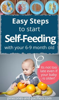 24 baby self-feeding food ideas for your 8 month old. Great first food ideas for older babies or young toddlers who are starting to self-feed. #babyfood #selffeeding #babyledweaning Baby Self Feeding, Baby Feeding Schedule, Meal Ideas, Food Ideas, Starting Solids Baby, 8 Month Old Baby, Baby First Foods, Baby On A Budget, Healthy Toddler Meals