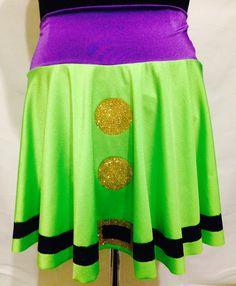 Dopey Glitter Running Skirt by RunPrincessRun on Etsy https://www.etsy.com/listing/197629925/dopey-glitter-running-skirt