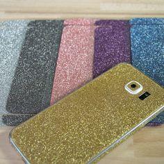 Glitzerfolien in 6 verschiedenen Farben und für zahlreiche Apple iPhone und Samsung Galaxy Modelle von PhoneNatic.de