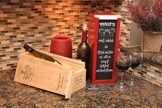 Premium White Wood Wine Box Unique Wedding Gifts, Unique Gifts, Wine Boxes, Wine Gifts, Family Traditions, Fine Wine, Groomsman Gifts, White Wood, Wine Tasting