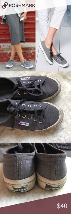 Superga Sneakers Classic and comfy! In good condition with plenty of miles left in them! Superga Shoes Sneakers