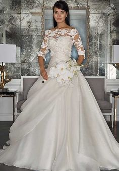 Romona Keveza Collection RK7495/RK7495Blouse Ball Gown Wedding Dress