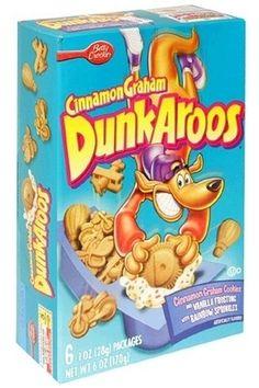 Dunkaroos!   My favorite childhood treat! Still available at Dollar General!