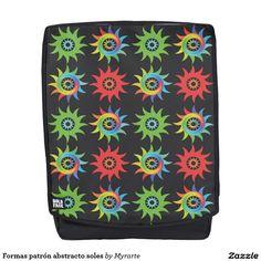 Formas patrón abstracto soles. Producto disponible en tienda Zazzle. Accesorios, moda. Product available in Zazzle store. Fashion Accessories. Regalos, Gifts. Link to product: http://www.zazzle.com/formas_patron_abstracto_soles_backpack-256307678242207123?CMPN=shareicon&lang=en&social=true&rf=238167879144476949 #mochila #backpack