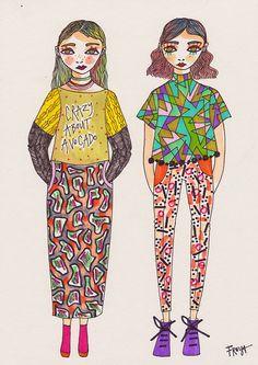 Crazy About Avocado//Freya Flavell at doodoodloo