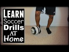LEARN Football/Soccer Drills You Can Do At Home! Includes several ball control, footwork, first touch and passing drills that you can do at h. Soccer Training Drills, Soccer Drills For Kids, Soccer Workouts, Football Drills, Soccer Practice, Soccer Skills, Soccer Coaching, Soccer Tips, Soccer Games