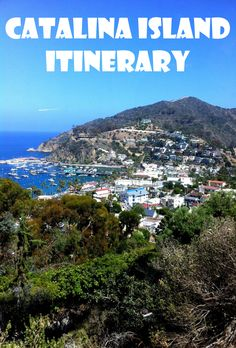 Planning a trip to Catalina Island?  Use this suggested itinerary of things to do in Catalina for a fun and active trip. #CatalinaIsland #California #travel