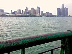 Detroit River, Windsor, ON // Sweet Spontaneity Windsor Ontario, May 1, Detroit, New York Skyline, Jet, Wanderlust, River, Adventure, Fairy Tales