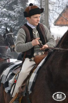 Folk clothing from the region of Podhale, southern Poland.