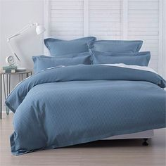 Abode Deluxe Waffle Duvet Cover Set