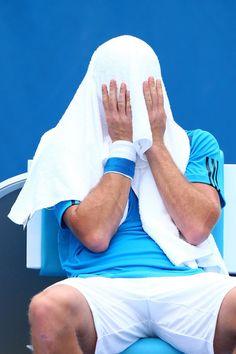 Ernests Gulbis Photos - Australian Open: Day 3 - Zimbio