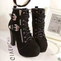 2013 Fashion Sexy Double Zipper High-Heeled Boots