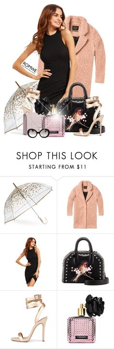 """""""romwe"""" by konstadinagee ❤ liked on Polyvore featuring ShedRain, STELLA McCARTNEY, Victoria's Secret and Prada"""