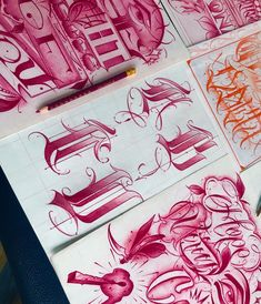 Tattoo Lettering Alphabet, Tattoo Lettering Design, Chicano Lettering, Graffiti Lettering Fonts, Script Lettering, Arte Lowrider, Chicano Drawings, Letras Tattoo, Cholo Art