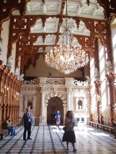 The Great Hall, Harlaxton Manor, Harlaxton, Lincolnshire | by Ned Trifle