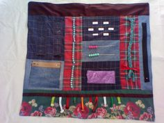 Fidget Quilt for Alzheimer's and Dementia Patients by UrbanFrog, $58.00