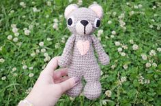 Crochet Bear amigurumi Bear toy crochet by CuteLambKnitting