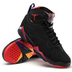 Nike Men\u0027s Air Jordan VII 7 Raptor basketball shoes , Black, D(M)