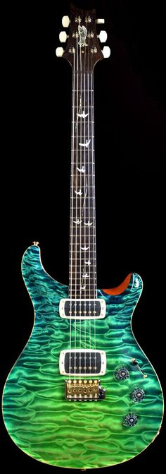 Wild West Guitars : PRS Private Stock #4067 McCarty Grass Stain Dragon�s Breath-SOLD: