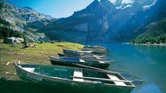 Lake Oeschinen, Switzerland ~ why? just because... :)