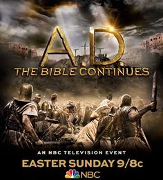 """AD The Bible Continues"" ~feat. Juan Pablo Di Pace portraying Jesus on NBC (Showing Easter Sunday April 5th, 2015 @ 9/8c)"