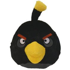 """Angry Birds 16"""" Plush Black Bird With Sound *** Find out more about the great product at the image link. (This is an affiliate link) #Puppets"""