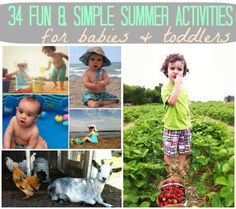 Magic In The Everyday: Top Summer Activities & Crafts For Babies & Toddlers | Disney Baby