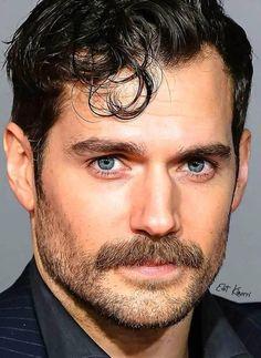 Hot Men, Sexy Men, Hot Guys, Nice Men, David James Gandy, Moustaches, Henry Cavill, It's Raining, Beard Styles