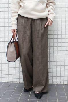 金子綾FRAMeWORKWIDE パンツ