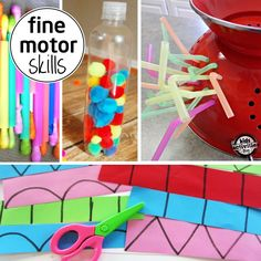 Activities to help your kids develope fine motor skills - for preschoolers